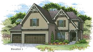 weston iii rodrock homes weston iii elev 1 color rendering