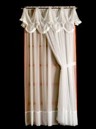 french voile window panels