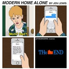 Alone Meme - 15 reasons the plot of home alone could never happen today