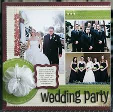 wedding scrapbook ideas wedding scrapbook title page ideas black and white layouts 50th