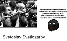 Starving Child Meme - a photo of starving children in an unspecified 3rd world country