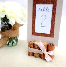 Wedding Table Number Holders Rustic Wedding Table Number Holder With Burlap U0026 Lace U2013 Kara U0027s