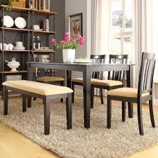 andover mills oneill modern 6 piece wood dining set u0026 reviews