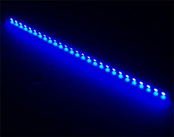 blue 12 30cm dimmable pc led