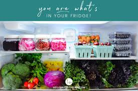 the eat to live fridge hello nutritarian