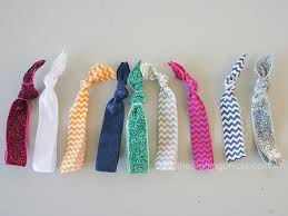 hair elastics how to make elastic hair ties the crafting