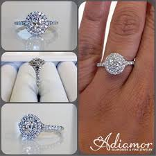 our round double halo split shank ring r2970 really makes