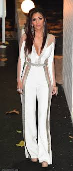 all white jumpsuits scherzinger steals the on the x factor in stunning