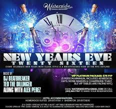 new years events in nj new years 2016 at waterside bergen nj tickets