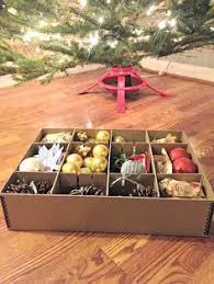 moiré archival ornament storage box holds 44 ornaments www