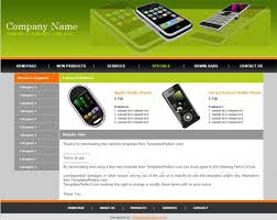 free mobile store web templates templates perfect