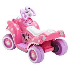 kid trax disney minnie mouse 6v quad ride target