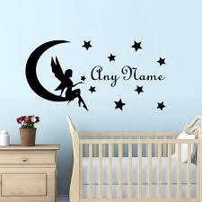 stickers pour chambre bébé fille nom autocollants pour les filles chambre bébé fille mur de crèche de