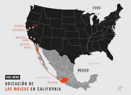 Michoacan Map Las Moicas Son De Michoacán Trafican Con Heroína En Eeuu La Dea