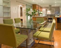 Elegant Glass Dining Room Tables Rectangular Best Glass Top Glass Top Dining Room Tables Rectangular