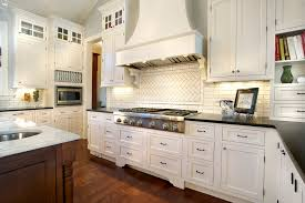 traditional backsplashes for kitchens looking subway tile backsplash in kitchen traditional with white