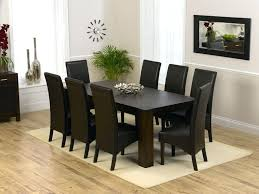 dining room sets for 8 living room stylish plain ideas dining table 8 chairs plush design