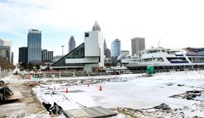 rock and roll hall of fame floor plan downtown cleveland lakefront project nabs nuevo an akron based