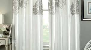 White Silk Curtains Faux Silk Curtain Fabric Uk Gopelling Net
