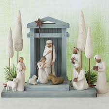 willow tree 8 5 inch resin and metal the three wisemen