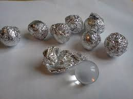 removing sins wrap marbles in foil have them think about a sin