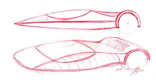 ferrari sketch design study ferrari enzo modulo sketch