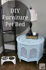 dog beds made out of end tables how to make a repurposed pet bed out of an old end table