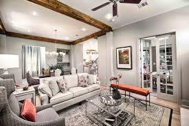 Model Home Living Room by Level Homes Americana Model Wins Professional Builder Platinum