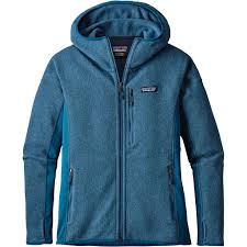 patagonia s better sweater patagonia s big sur blue performance better sweater hoody