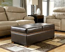 leather ottoman round coffee table coffee table with storage ottomans round 4 leather