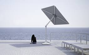 Beach Shade Umbrella Shade Craft Sunflower The Solar Powered Umbrella Insidehook