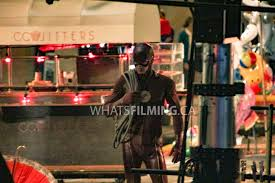 the flash news what u0027s filming