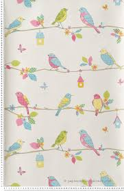 papier peint lutece chambre oiseaux bleus papier peint lutèce bird