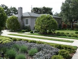 mid century modern residential blue heron landscaping