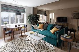 teal livingroom 17 beautiful small living rooms that work
