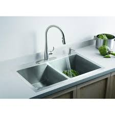 kohler simplice single handle pull down sprayer kitchen faucet