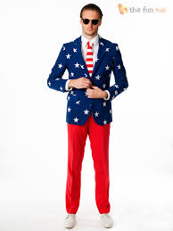 oppo suit mens america usa and stripes thanksgiving