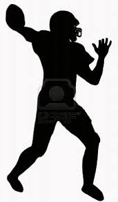 silhouette football free download clip art free clip art on