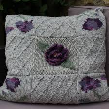 Knitted Cushion Cover Patterns Knitkits