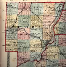 Illinois Map by Peoria County Illinois Maps And Gazetteers