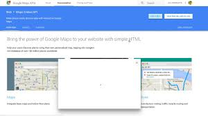 how to get google map embed api key youtube