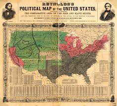 Muscle Shoals Alabama Map Reynolds Political Map Of The United States 1854 The Era Of