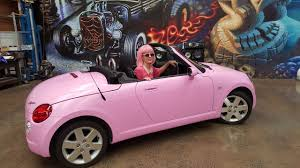 pink glitter car my pink barbie car all about car wraps all dolled up youtube