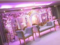 Wedding stage decoration in London