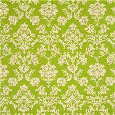 green echino canvas fabric leopard ornament echino