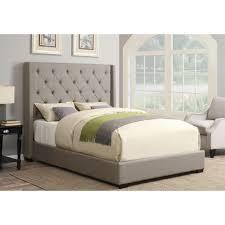Grey Queen Size Bedroom Furniture Shelter Ash Grey Queen Upholstered Bed Pulaski Furniture Ash