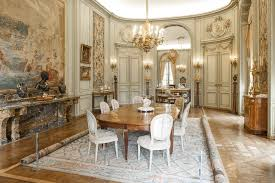 the dining room and porcelain room