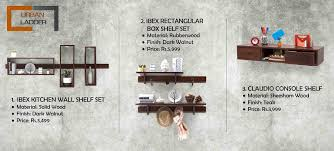 Wall Shelves Pepperfry Let These Wall Shelves Hold Up Your Stuff Renomania