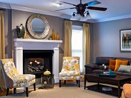 What Color Curtains Go With Gray Walls by White Transitional Living Room Carameloffers
