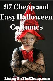 101 cheap and easy halloween costumes easy costumes easy
